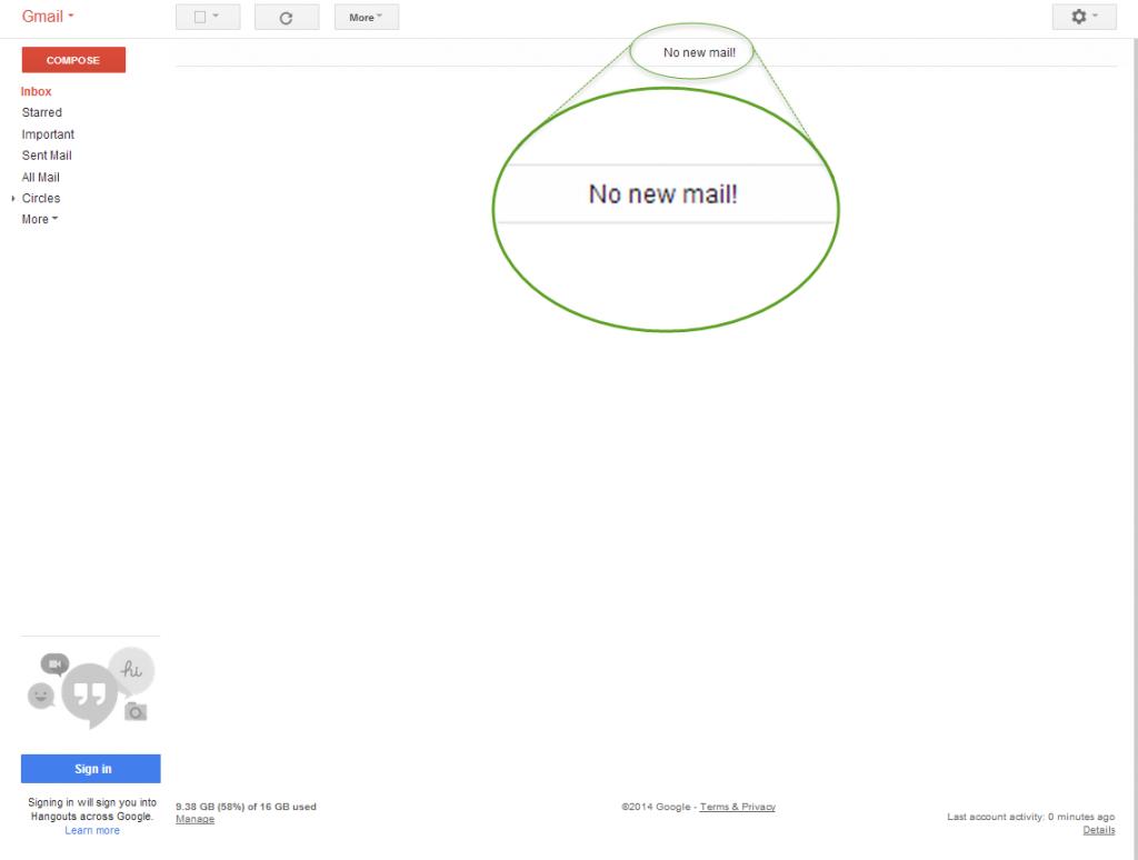 Inbox Zero!